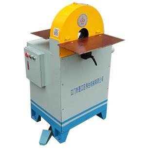 Exhaust pipe polishing machine