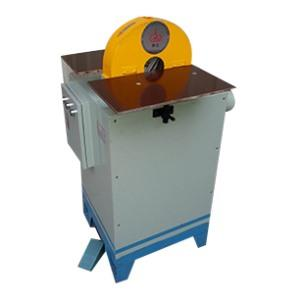 Outlet pipe polishing machine