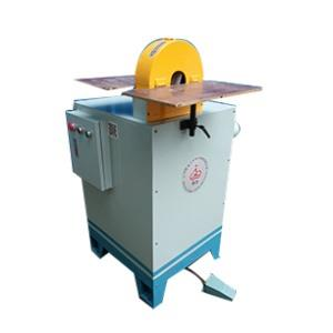 Curved tube drawing polishing machine