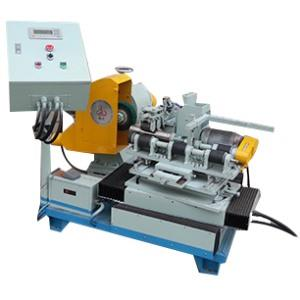 Round cover polishing machine