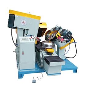 External polishing machine with spray gun