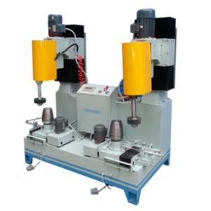 Double station grinding machine