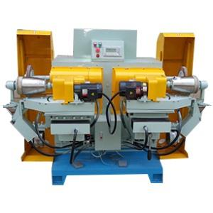 Double head outer polishing machine