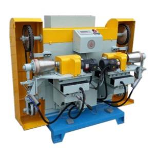Double head outer polishing machine model